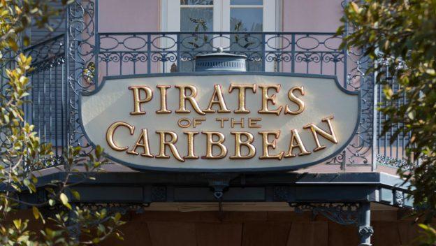Pirates of the Caribbean in Disneyland