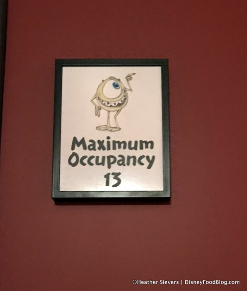 Occupancy sign