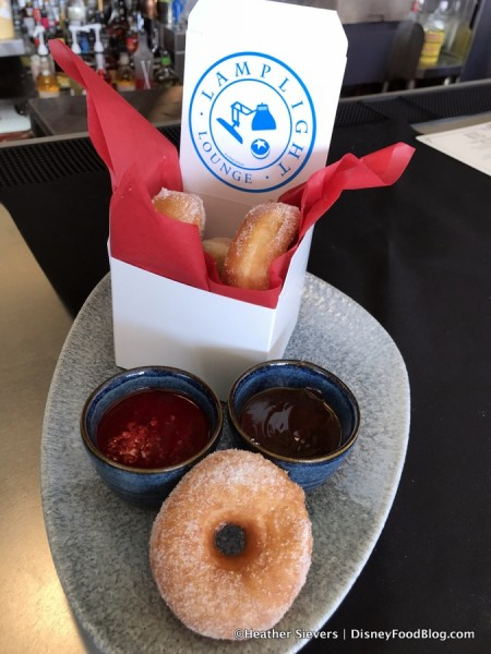 Donuts with Dipping Sauces