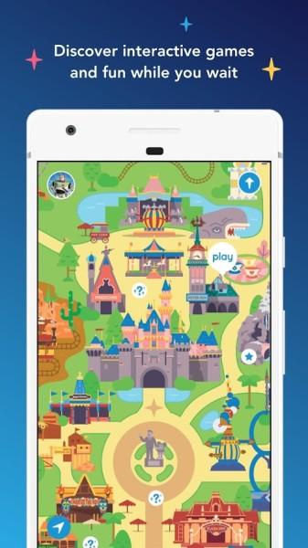 Play Disney Parks App Preview ©Disney