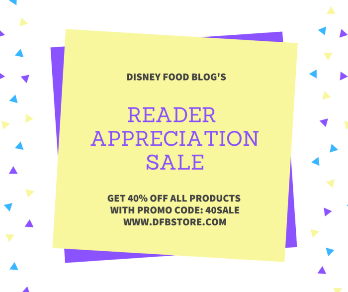 Reader Appreciation Sale
