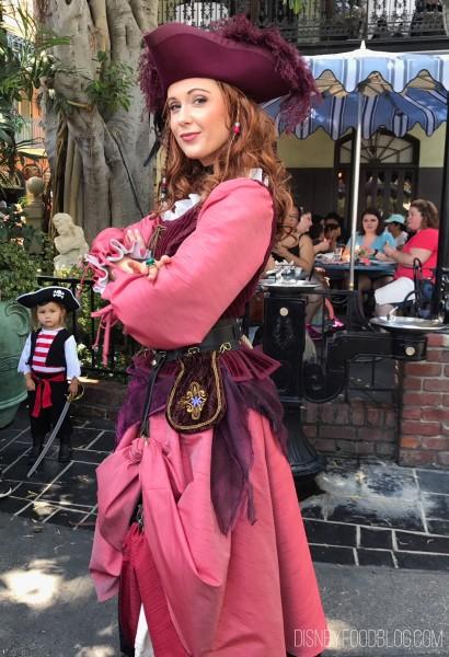 Redd Character in Disneyland