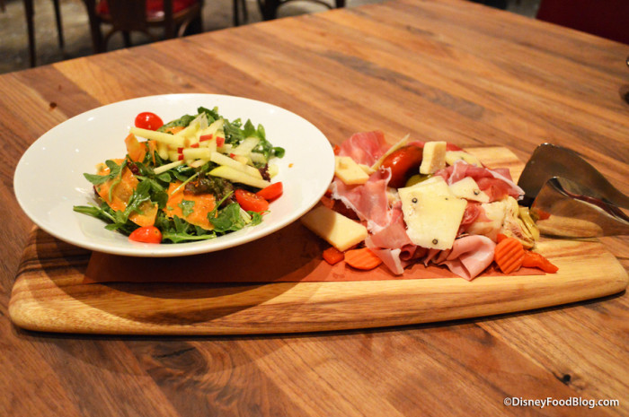Salad and Antipasto Board