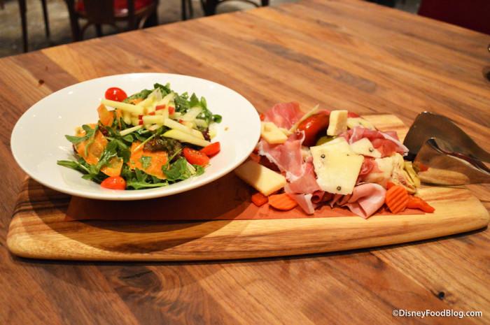 Salad and Antipasto Board
