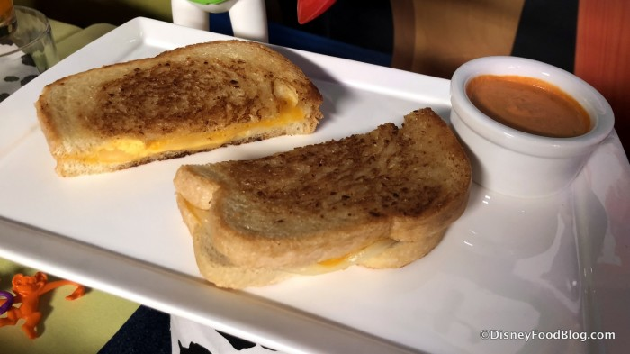 Grilled Three Cheese