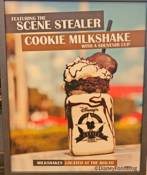 Scene Stealer Cookie Milkshake