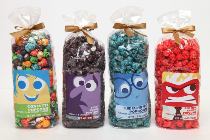 Pixar-themed Popcorn ©Disney