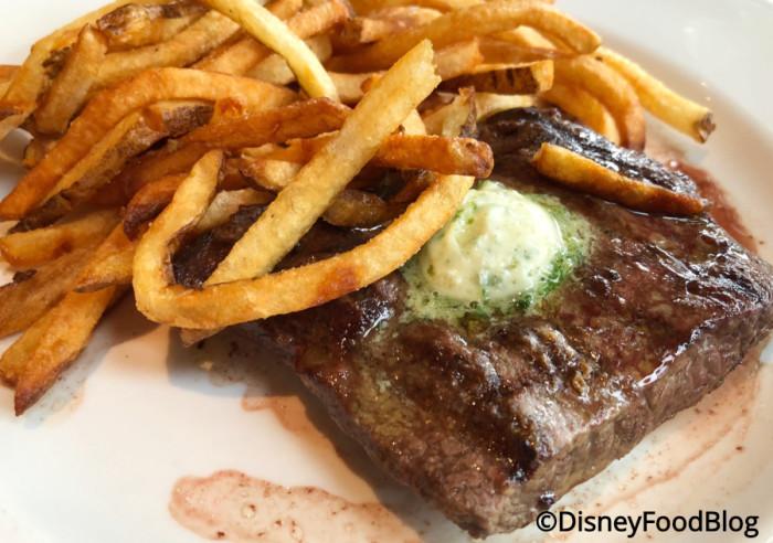 Steak Frites Beurre Maitre d'Hotel