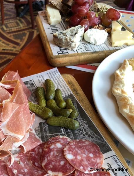 Appetizers at Les Chefs de France