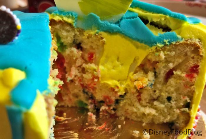Confetti Cake Interior