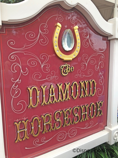 Diamond. Horseshoe. Diamond Horseshoe!
