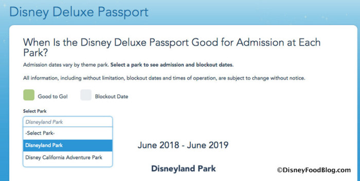 Deluxe Annual Passport Park Specific screenshot