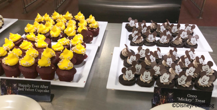 Red Velvet Cupcakes and Mickey Oreo Treats