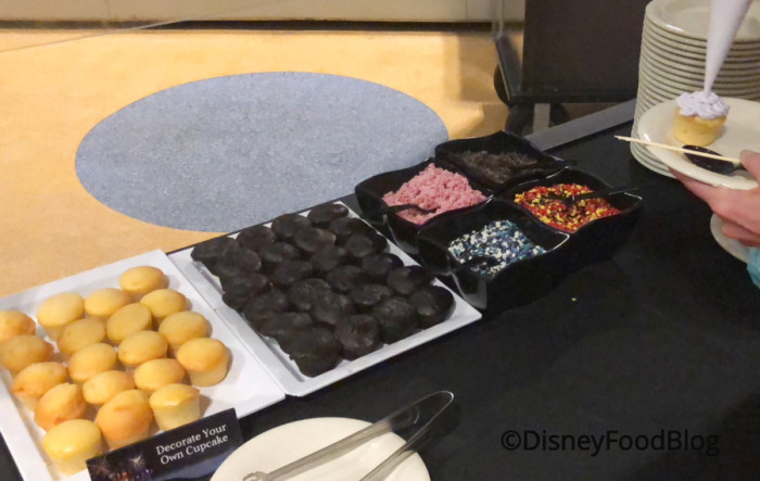 Create Your Own Cupcake Station