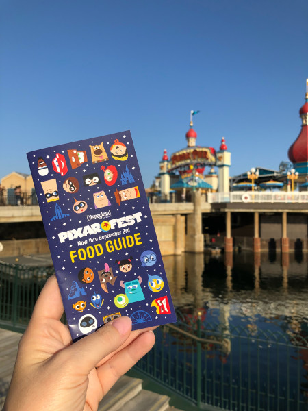 Pixar Fest Food Guide