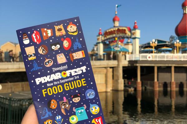 Pixar Fest Food Guide Now Including Food from Pixar Pier!