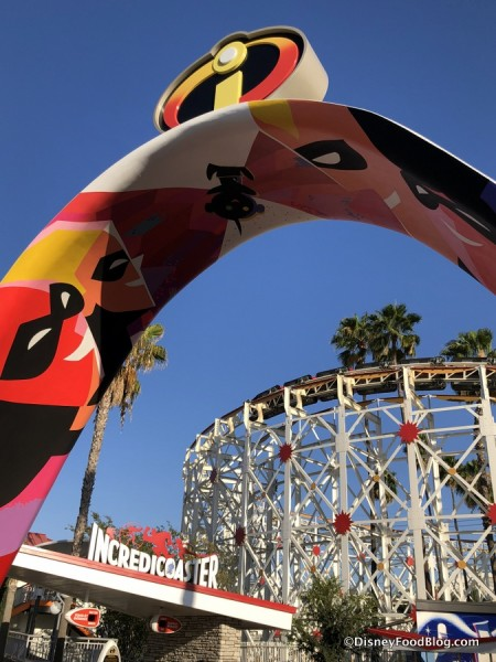 Heading to the Incredicoaster