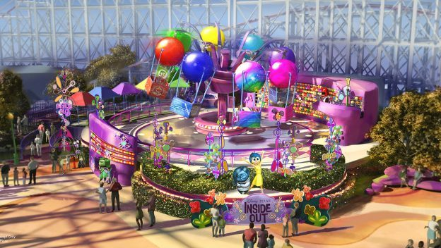 Inside Out Emotional Whirlwind concept art ©Disney