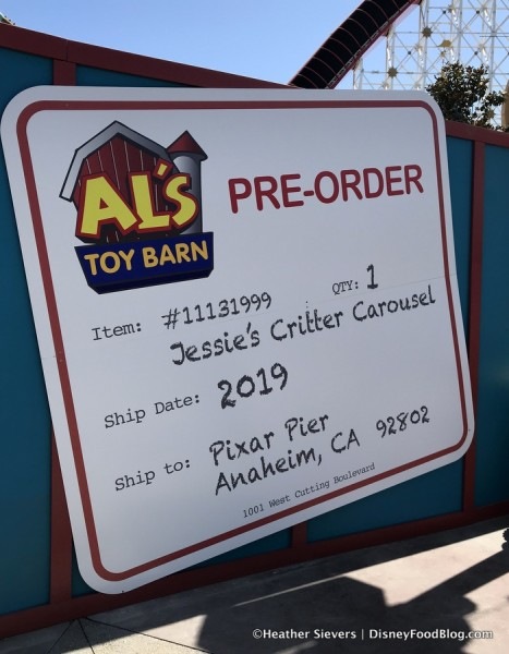 Jessie's Critter Carousel... coming in 2019!