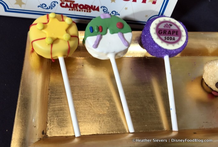 Toy Story and Up Cake Pops
