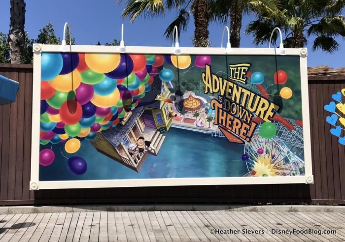 Pixar Pier Billboard