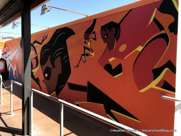 Incredicoaster Mural