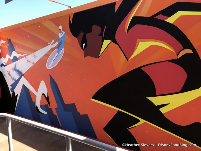 Incredicoaster Mural