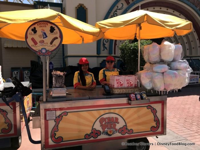 Pixar Promenade Snack Cart