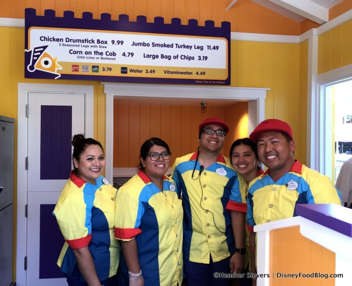 Poultry Palace Menu and Cast Members