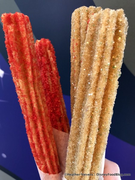 Caliente Churro and Cinnamon Sugar Galaxy Churro