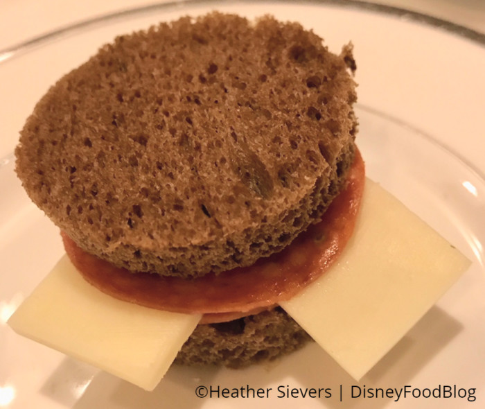 Pepperoni and Cheese Sandwich