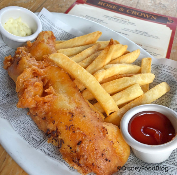 Rose & Crown Fish & Chips
