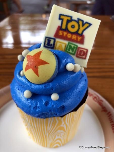 Toy Story Land Cupcake