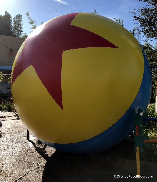 Pixar Ball in Toy Story Land