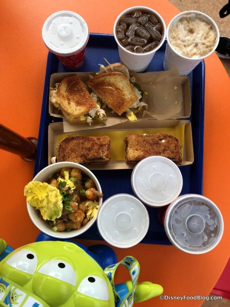 Breakfast at Woody's Lunch Box
