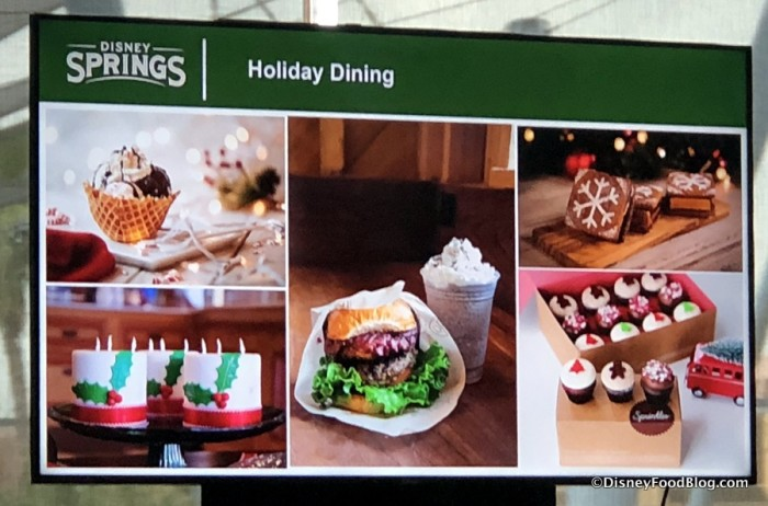Disney Springs Holiday Dining