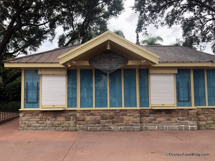 2018 Epcot Food and Wine Festival: Almond Orchard Promenade Booth
