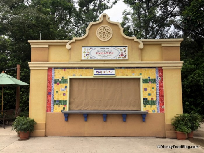 2018 Epcot Food and Wine Festival: Brazil Booth