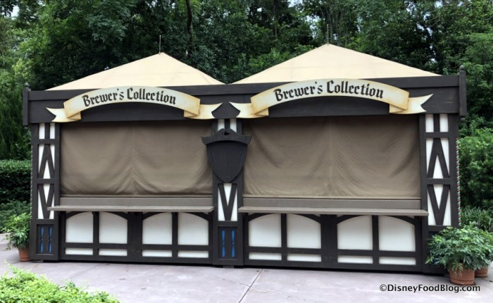 2018 Epcot Food and Wine Festival: Brewers' Collection Booth