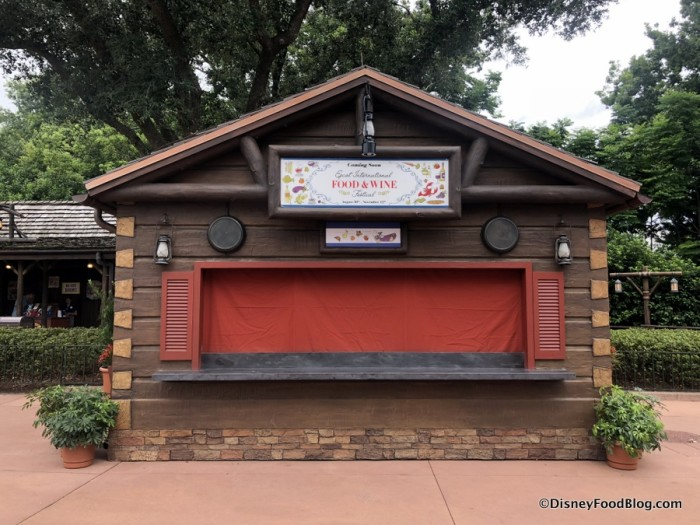 2018 Epcot Food and Wine Festival: Canada Booth