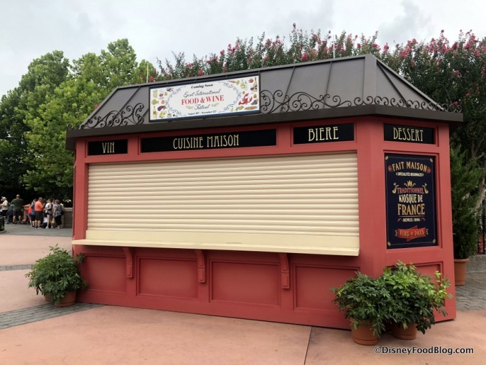 2018 Epcot Food and Wine Festival: France Booth