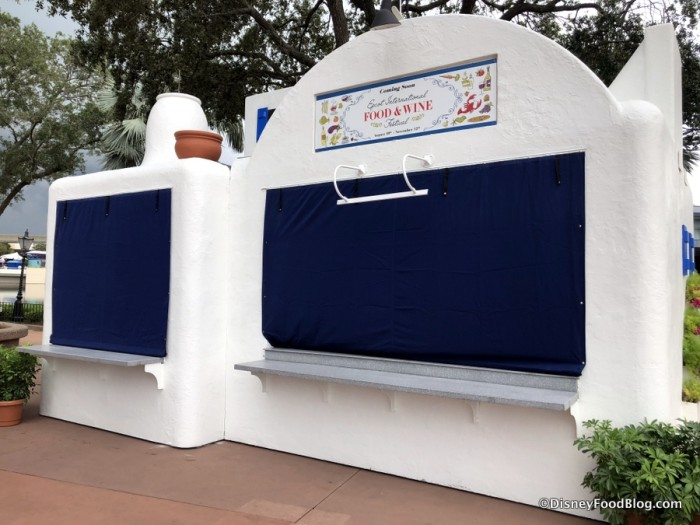 2018 Epcot Food and Wine Festival: Greece Booth