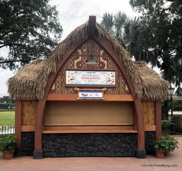 2018 Epcot Food and Wine Festival: Hawaii Booth