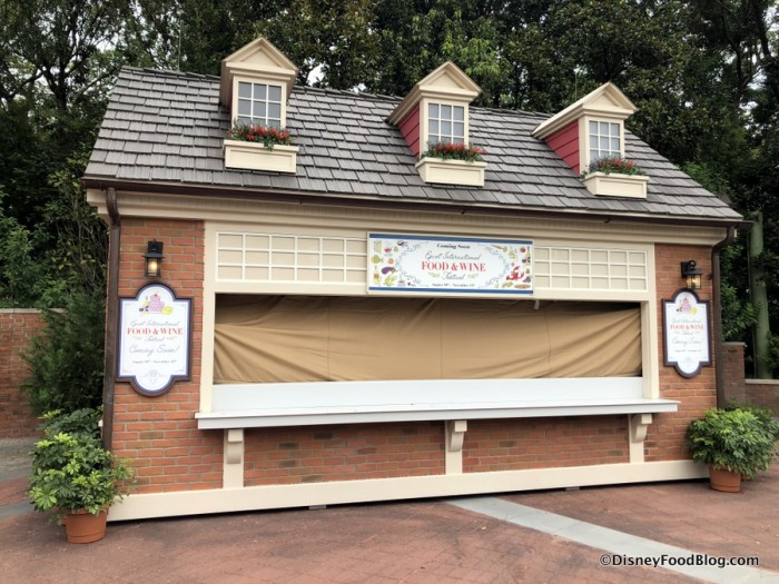 2018 Epcot Food and Wine Festival: Hops and Barley Booth