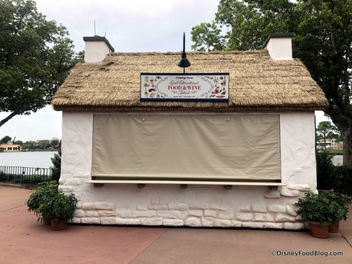 2018 Epcot Food and Wine Festival: Ireland Booth