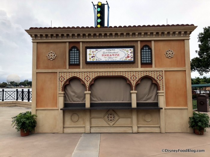 2018 Epcot Food and Wine Festival: Italy Booth