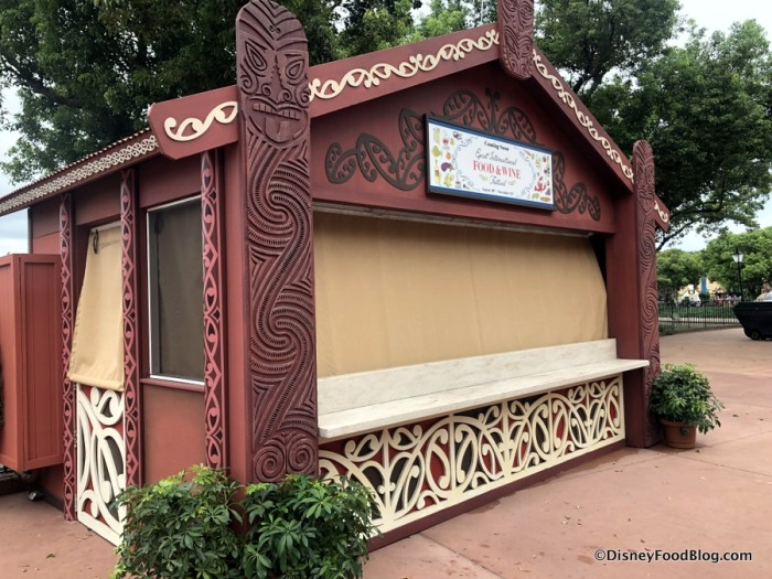 2018 Epcot Food and Wine Festival: New Zealand Booth
