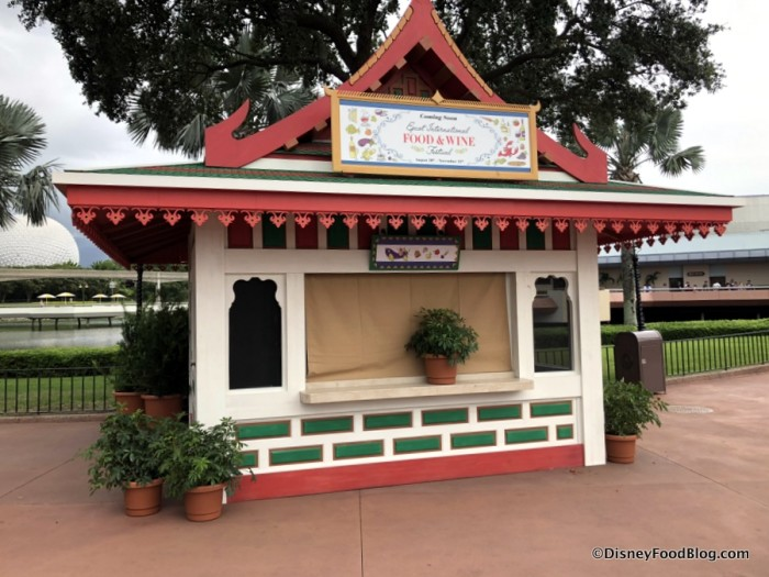 2018 Epcot Food and Wine Festival:Thailand Booth
