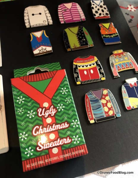 Ugly Christmas Sweater Pins