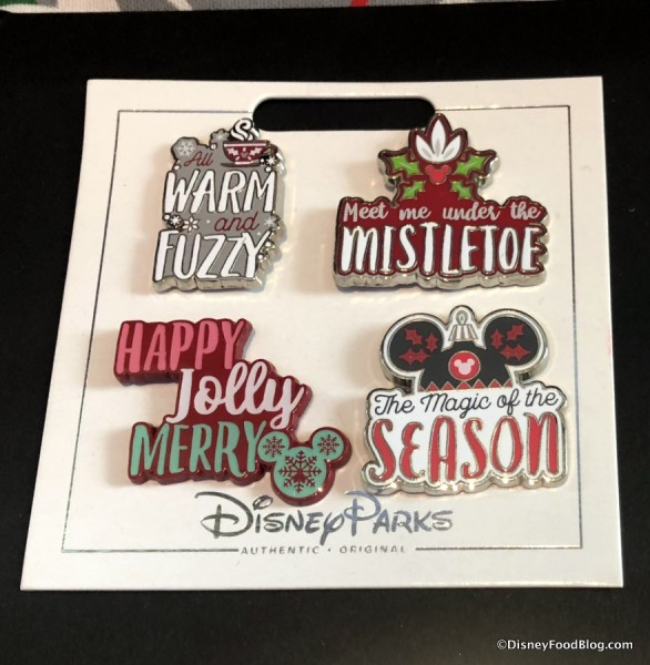 2018 Holiday Pins